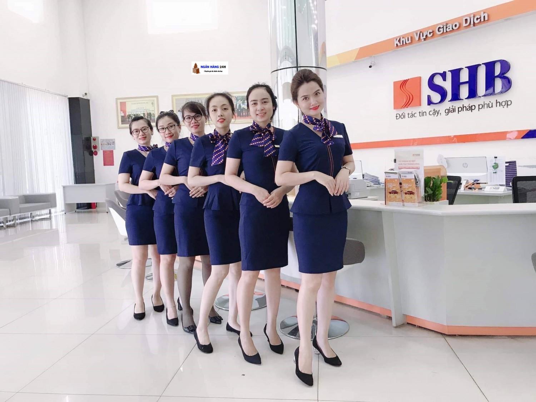 Mẫu đồng phục ngân hàng SHB